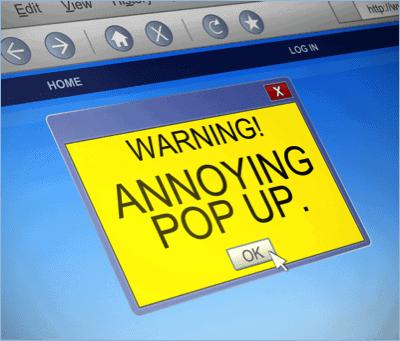 Pop-Up Ad